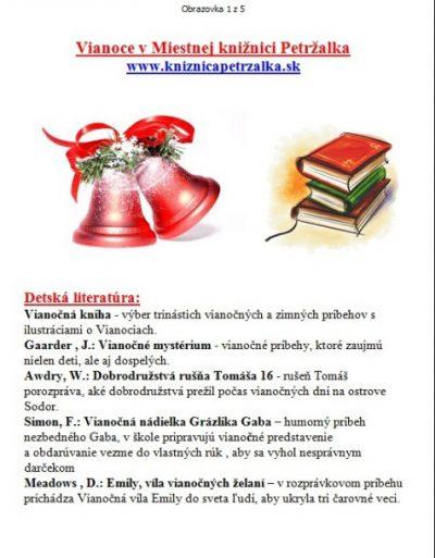 Vianočná ponuka kníh