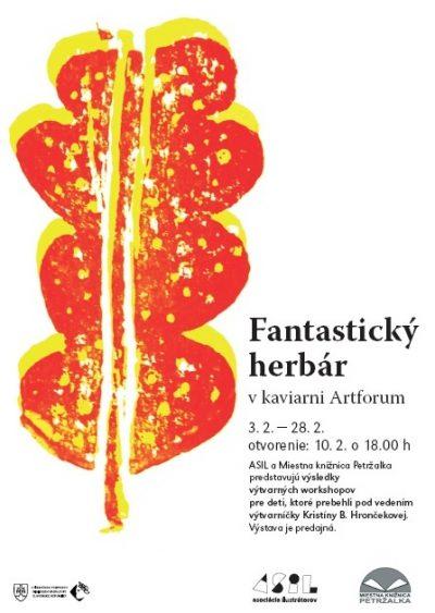 Fantastický herbár v kaviarni Artforum