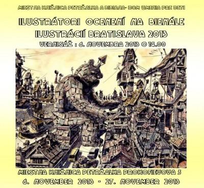 výstava Ilustrátori ocenený na Bienále ilustrácií Bratislava…