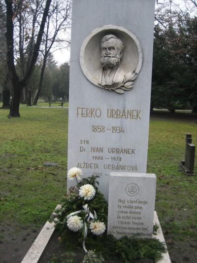 Pietna spomienka na Ferka Urbánka