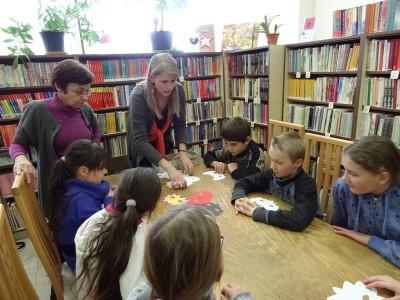 január – február Tvorivé dielne v knižnici
