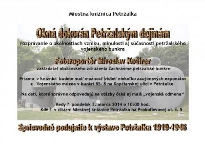Okná dokorán Petržalskej histórii