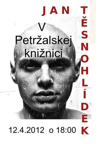 Autorské čítanie – Jan Těsnohlídek