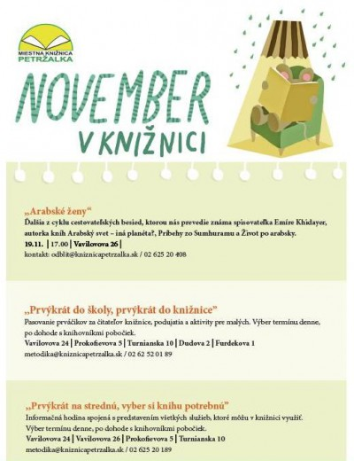 November v knižnici