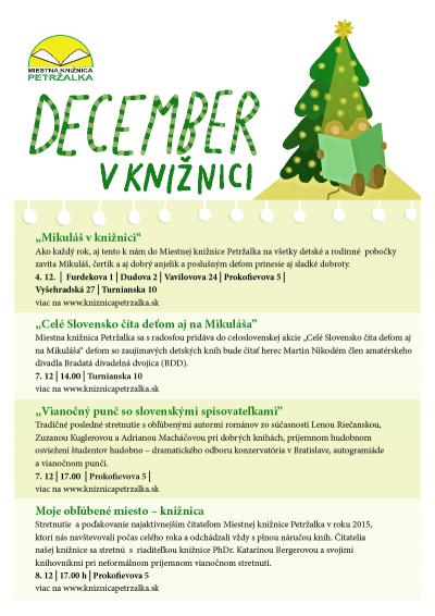 Program na mesiac december/2015