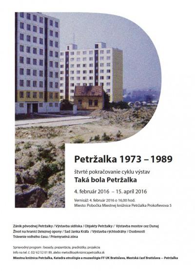 Taká bola Petržalka – Petržalka v rokoch 1973 – 1989