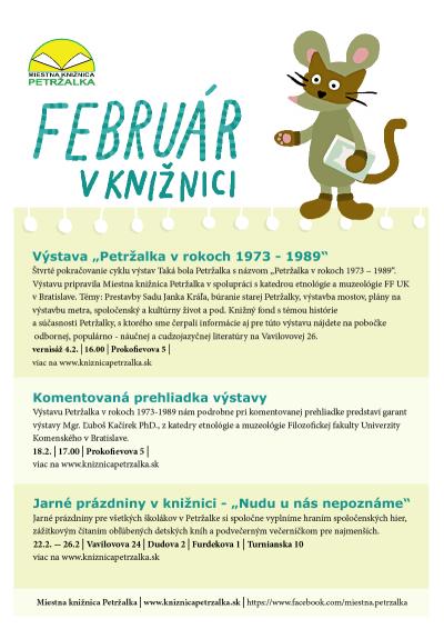 Program na mesiac február/2016
