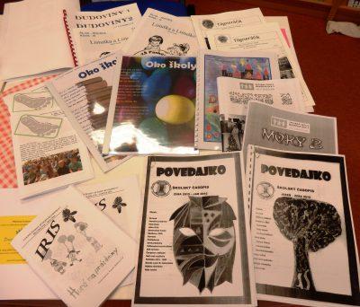 Školským časopisom otvorila knižnica dvere už po dvadsiatykrát