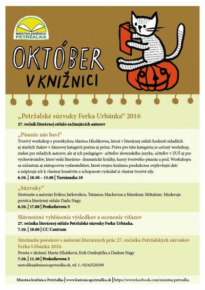 Program október/2016