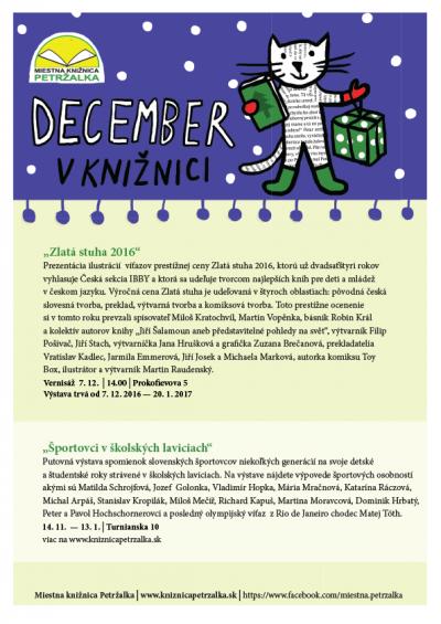 December v knižnici