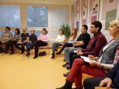 """Workshop """"Ako na knižničné podujatia pre žiakov druhého stupňa"""" s Tiborom Hujdičom"""