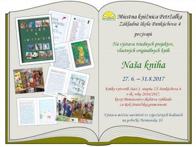 Výstava Naša kniha