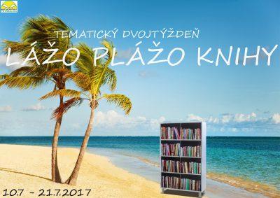 """Tématický dvojtýždeň  """"Lážo plážo knihy"""""""