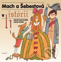 Macourek, M.: Mach a Šebestová v histórii