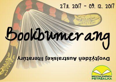 Bookbumerang- dvojtýždeň austrálskej literatúry