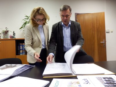 Pracovné stretnutie k novej službe požičiavania audiodokumentov v petržalskej knižnici