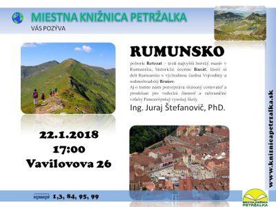 Cestovateľský denník- Rumunsko