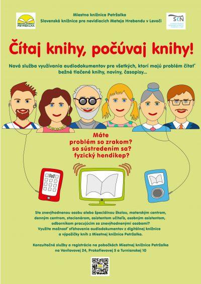 Nová služba v Miestnej knižnici Petržalka