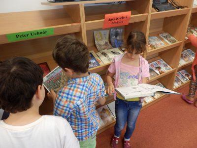 Detektívka v knižnici- informačná výchova trocha inak