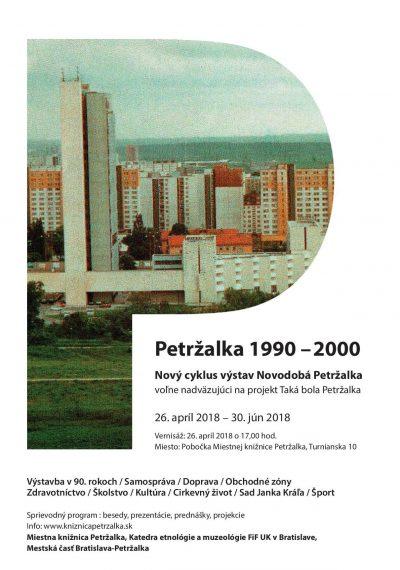 Novodobá Petržalka, Petržalka 1999-2000