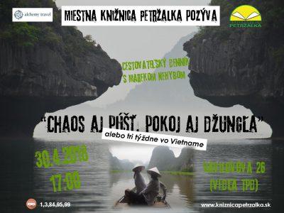 Cestovateľský denník- Chaos aj púšť, pokoj a džungľa- Vietnam s Marekom Nehybom