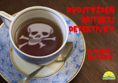 Britská detektívka- knižný dvojtýždeň od 16. do 28. apríla 2018