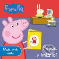 Astley, N.: Peppa Pig : Peppa v knižnici