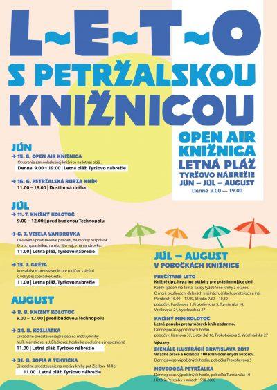 Leto s petržalskou knižnicou 2018