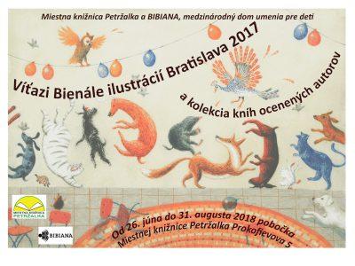 Víťazi Bienále ilustrácií Bratislava 2017 a kolekcia kníh ocenených autorov
