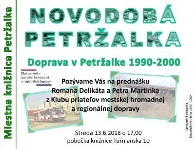 Doprava v Petržalke 1990-2000