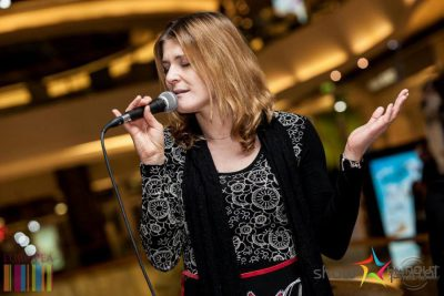 Katarína Feldeková spieva Ľubomíra Feldeka