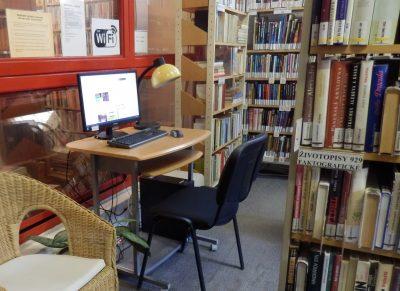 Internet a wi-fi zóny v knižnici
