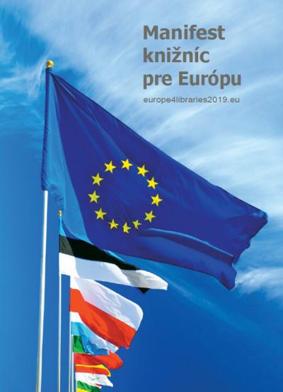 Podporujeme Manifest knižníc pre Európu