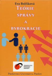 Bolfíková, Eva: Teórie správy a byrokracie