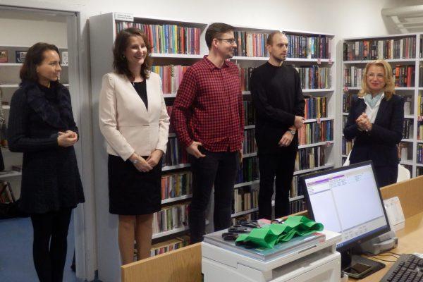 zľava: Ľudmila Pastorová, Lýdia Ovečková, František Kozmon, Martin Hudec, Katarína Bergerová