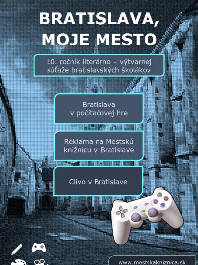 Bratislava, moje mesto 2020