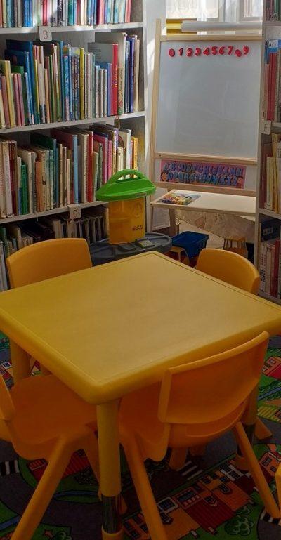 Detský mobiliár pobočiek vďaka podpore z Fondu na podporu umenia
