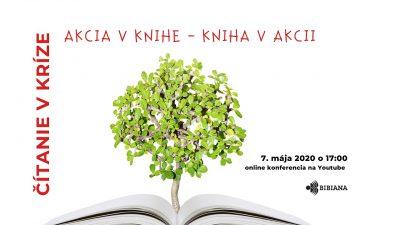 Naše knižné vidoprojekty si všimli aj organizátori konferencie Čítanie v kríze