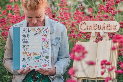 Činčuáčik číta deťom. Projekt Letná knižná školička