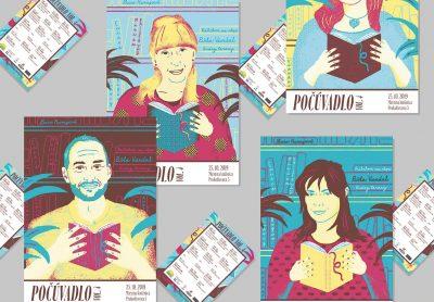 Plagáty Počúvadla vo finále Národnej ceny za dizajn