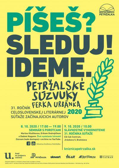 Petržalské súzvuky Ferka Urbánka 2020 – priamy prenos zo slávnostného vyhodnotenia