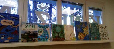 Deň Zeme a projekt Spoločne EKO v našej knižnici