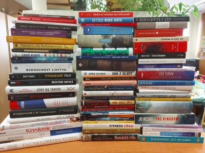 Nové knihy sú pripravené na pobočkách