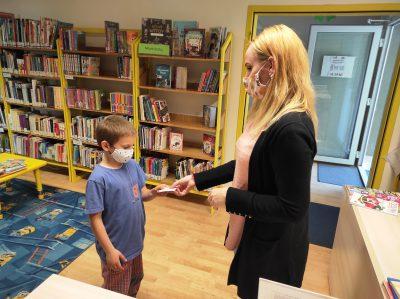 Deň detí – čitateľský preukaz zdarma