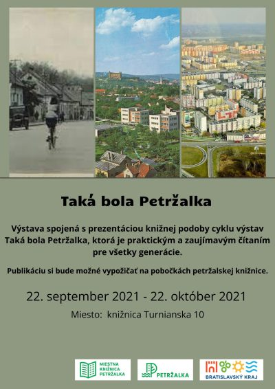 Taká bola Petržalka – kniha